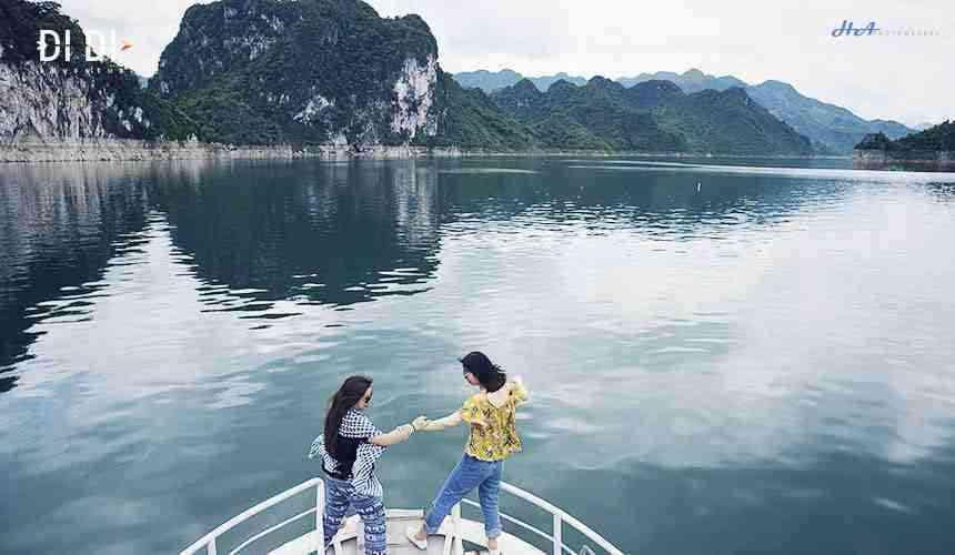 Du lịch Thung Nai Hồ Hòa Bình