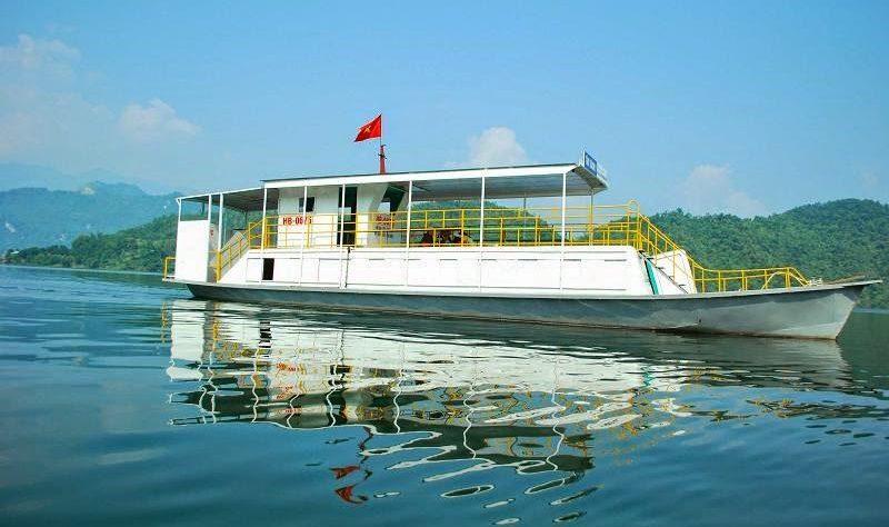 Thuê thuyền, đò du lịch Thung Nai – Thác Bờ chỉ 150k/khách