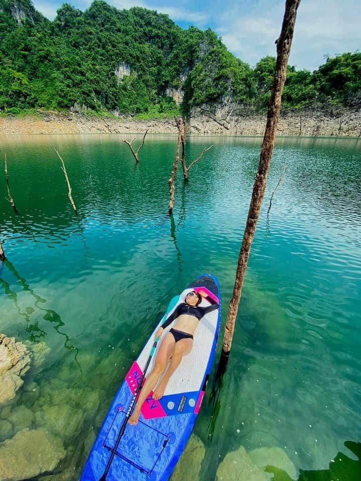 Hồ Tiên, bản Ngòi