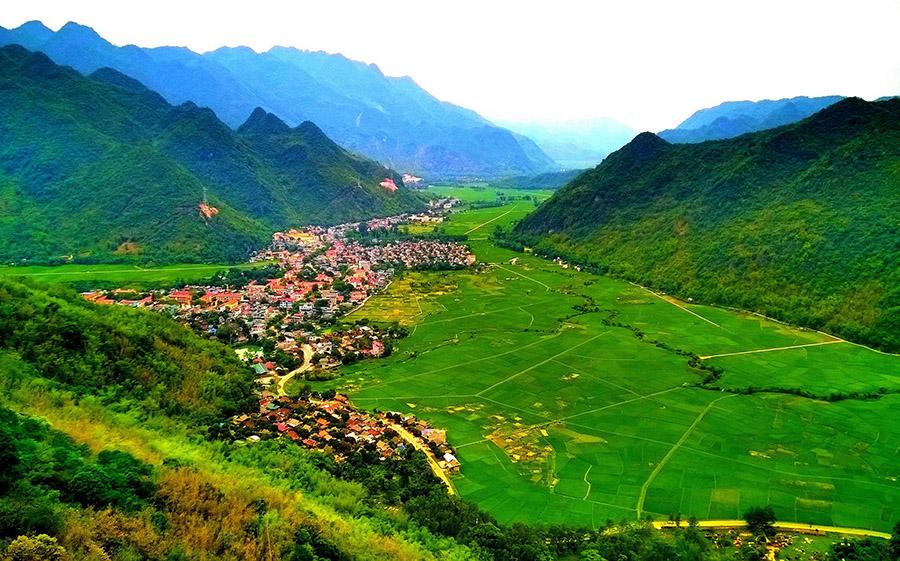 Du lịch Mai Châu - Pù Luông để ngắm thung lũng Mai Châu